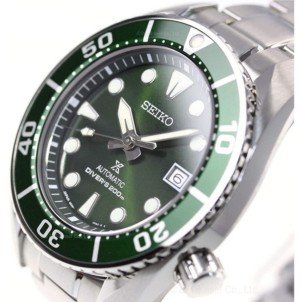 Relógio Seiko Prospex Sumo Green Safira SPB103J1 E1SX / SBDC081 Made in Japan