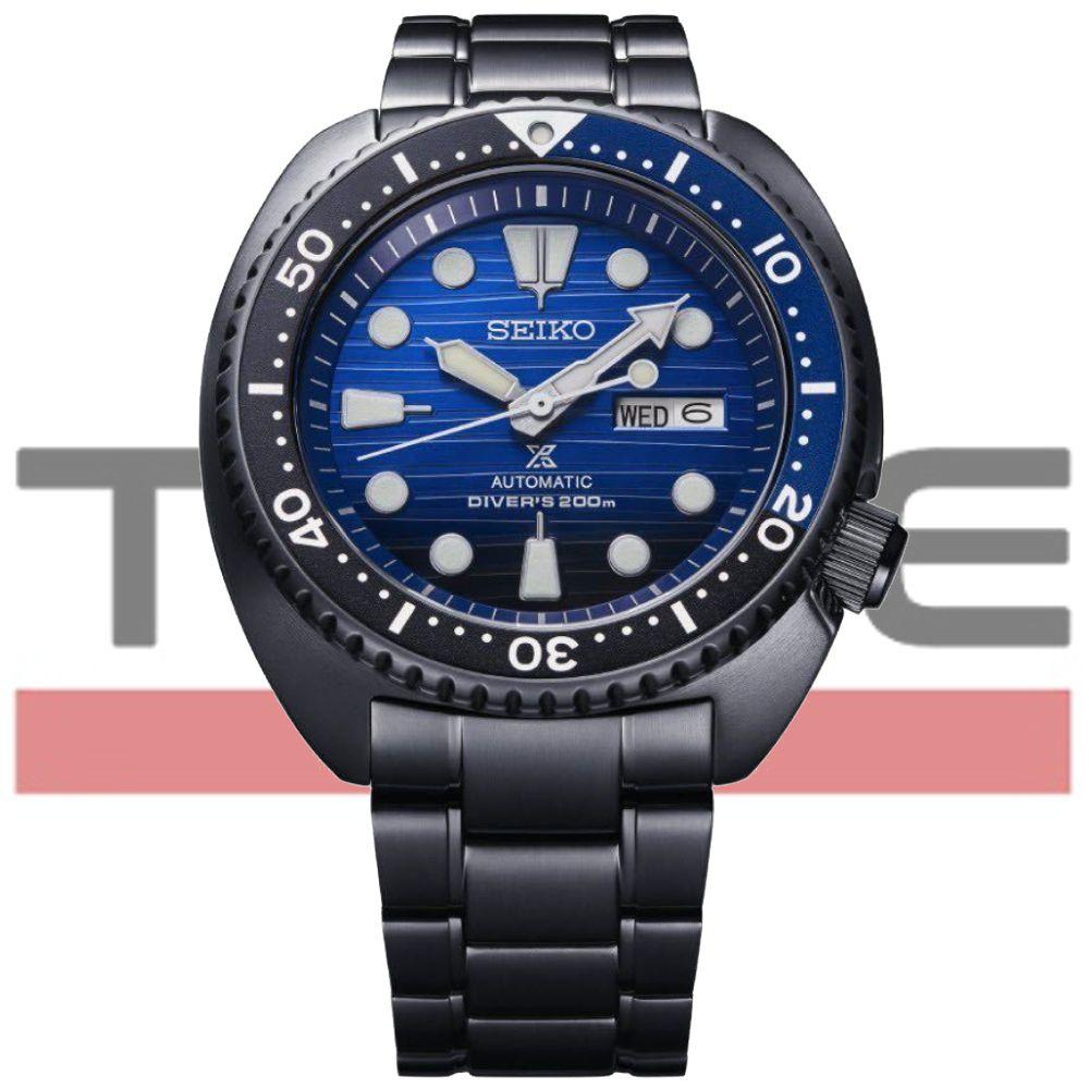 Relogio Seiko Prospex Turtle Save the Ocean Automático Masculino SRPD11B1 D1PX Edição Especial