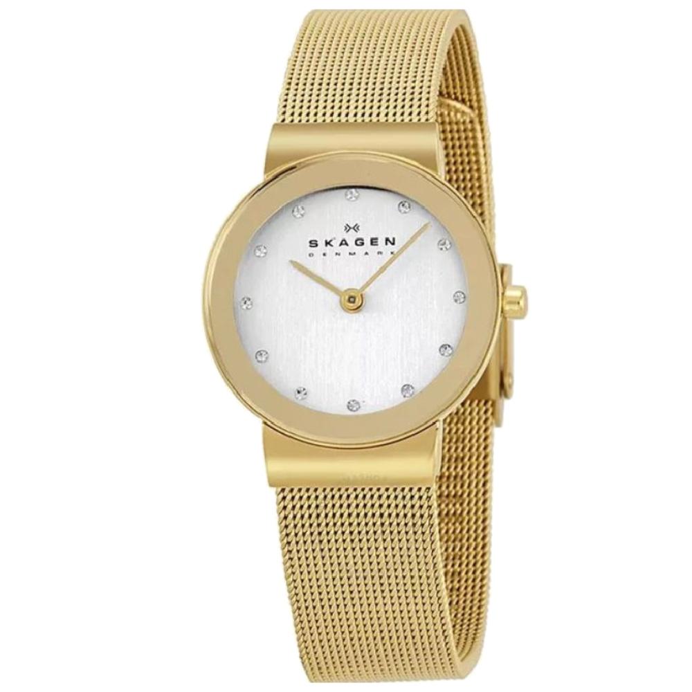 Relógio Skagen Ladies Feminino Dourado 358SGGD/4DN