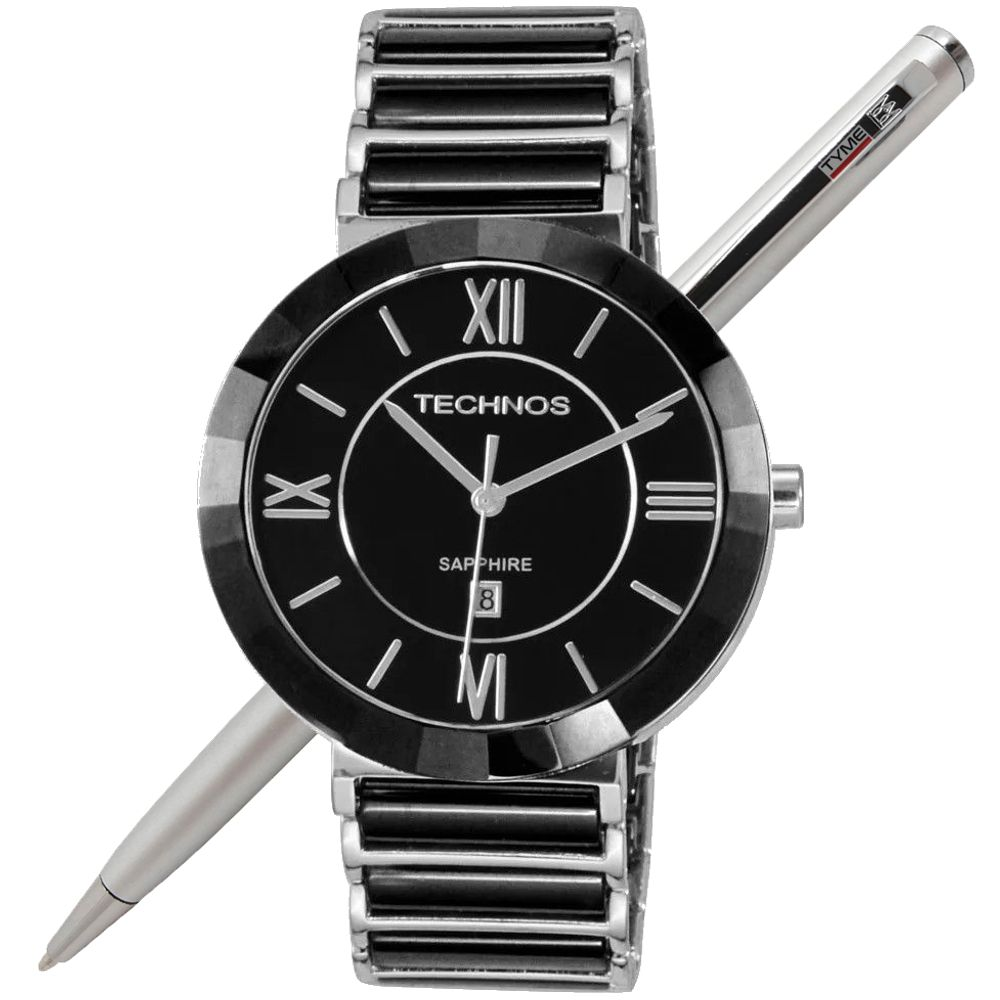Relógio Technos Cerâmica Safira Unissex 2015BX/1P - 40 mm