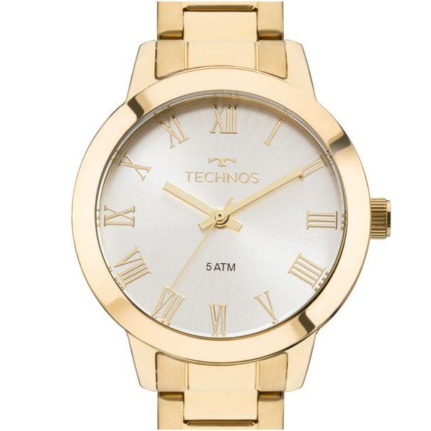Relógio Technos Feminino Boutique 2035MKU/4K Dourado