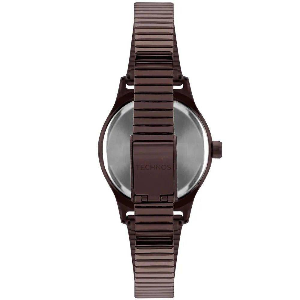 Relógio Technos Feminino Boutique 2035MQH/4M - Marrom