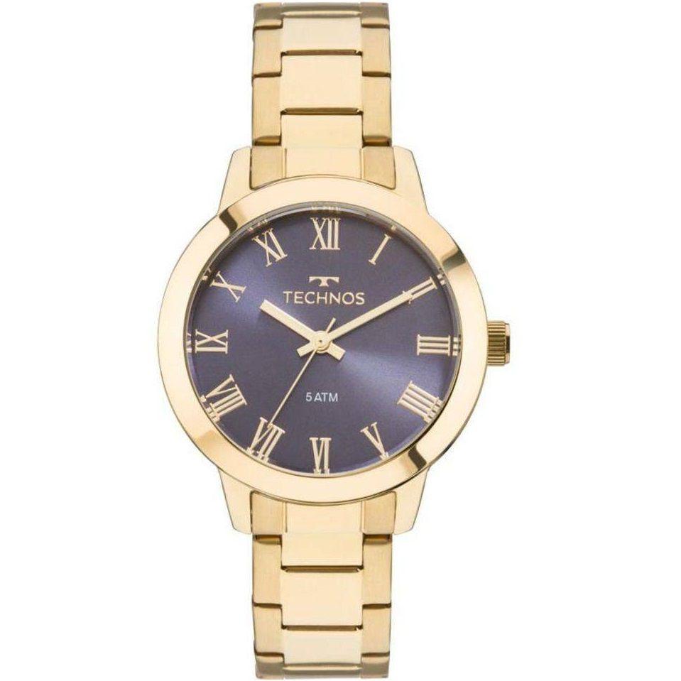 Relógio Technos Feminino Boutique Dourado 2035MKU/4A