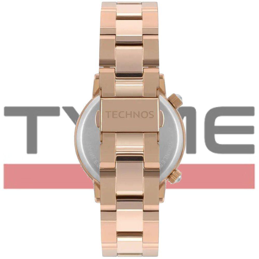 Relógio Technos Feminino Crystal Rocks Rosé 2039BV/4M