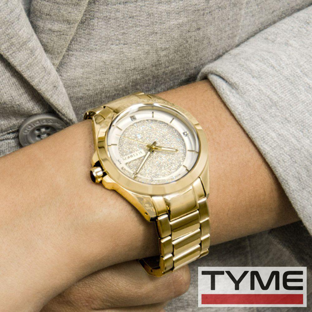 Relógio Technos Feminino Elegance Crystal 203AAA/4K