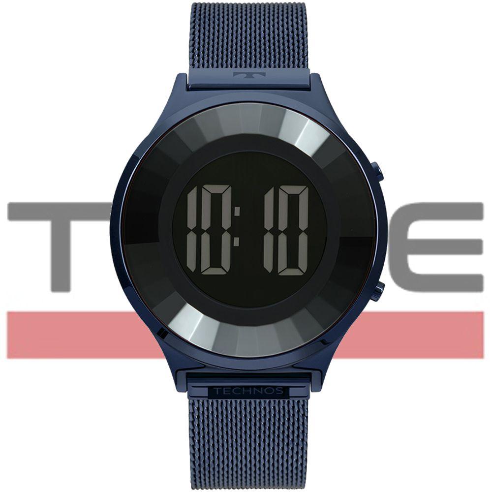 Relógio Technos Feminino Elegance Crystal BJ3572AC/4P Azul