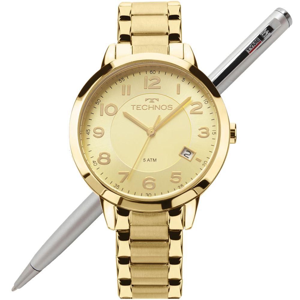 Relógio Technos Feminino Elegance Dress 2315ACM/4X