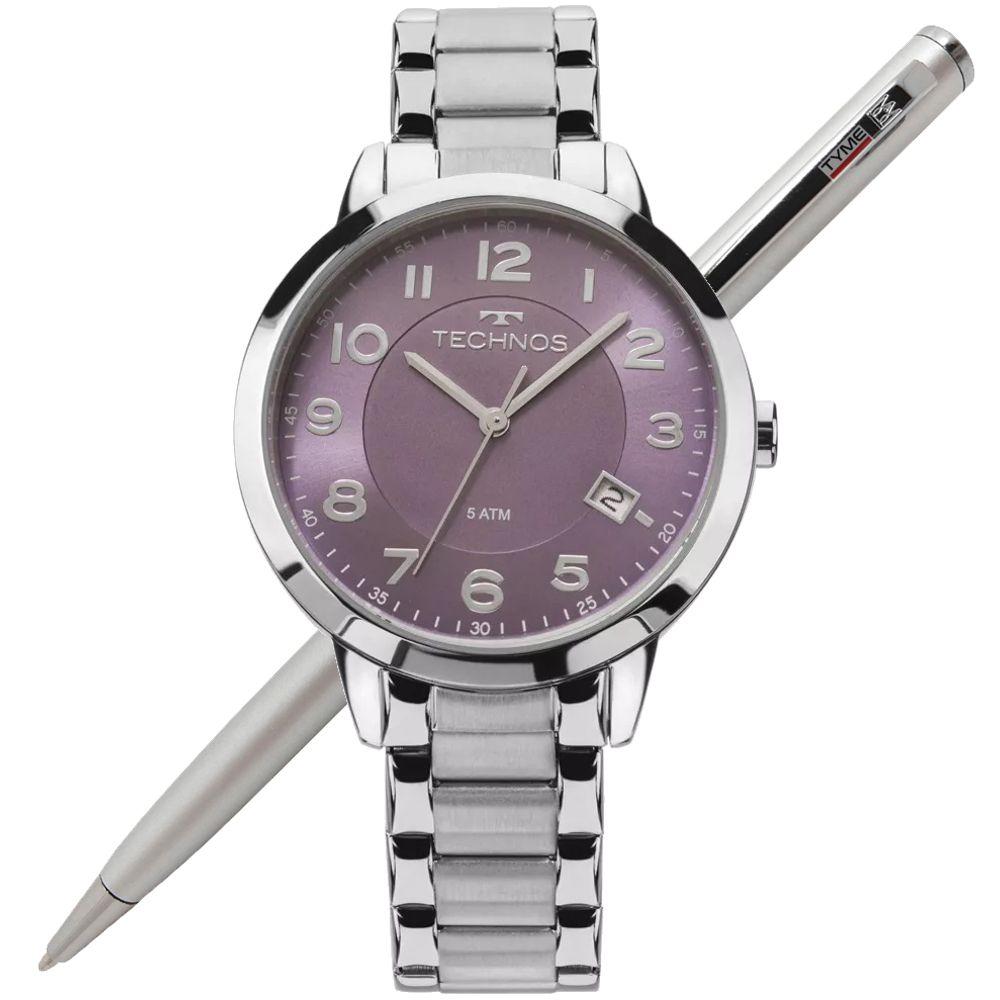 Relógio Technos Feminino Elegance Dress 2315ACN/3G