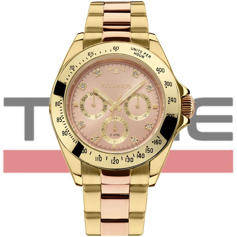 Relógio Technos Feminino Elegance Ladies 6P29AIU/5T