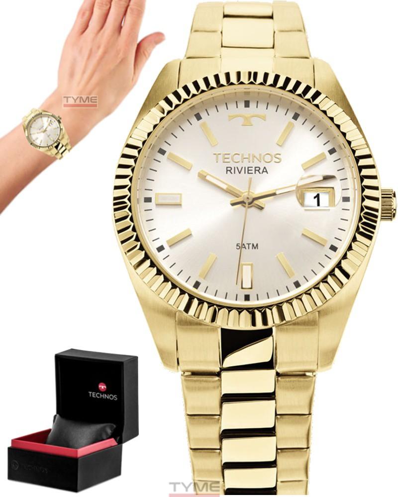 Relógio Technos Feminino Elegance Riviera 2115KTR/4K - 36mm