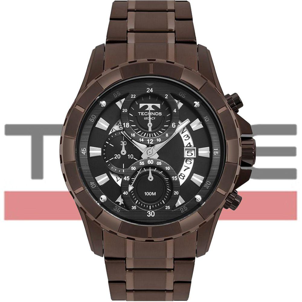 Relógio Technos Masculino Classic Legacy JS15FN/4P - Marrom
