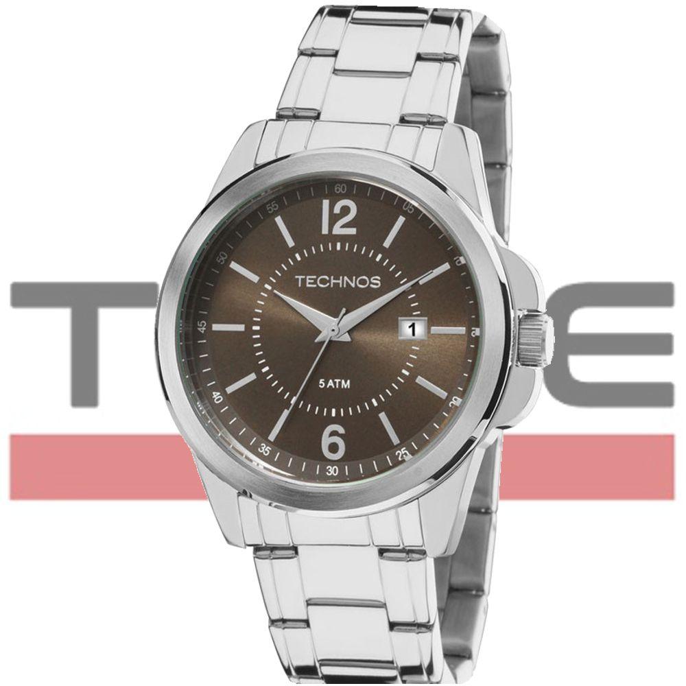 Relógio Technos Masculino Classic Steel 2115MKW/1M