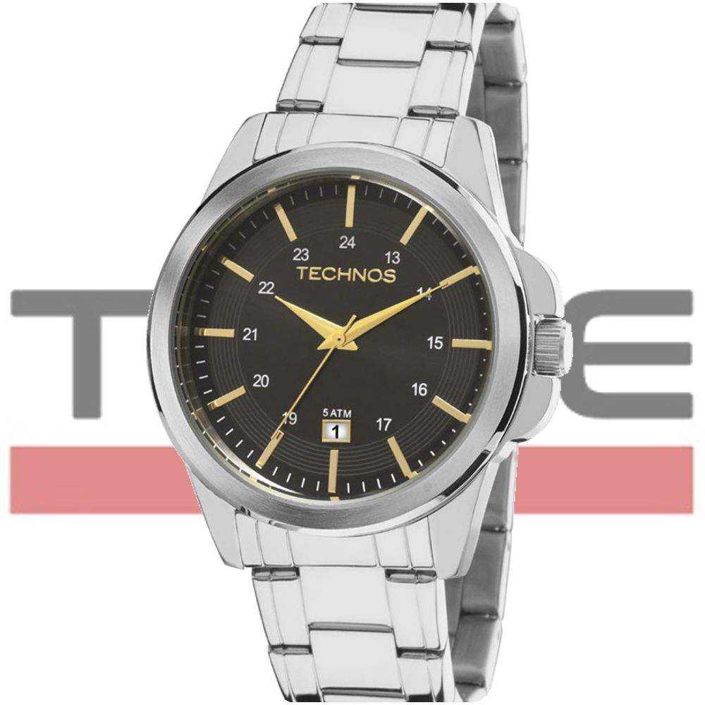 Relógio Technos Masculino Classic Steel 2115MLA/1P