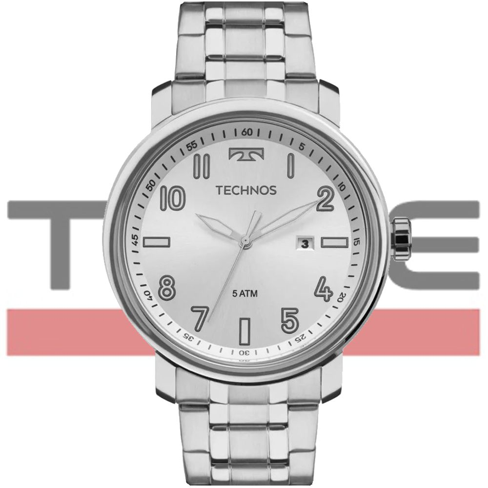 Relógio Technos Masculino Classic Steel 2115MNH/1K