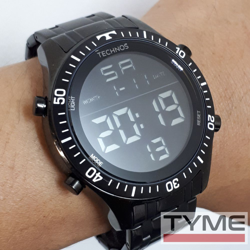 Relógio Technos Masculino Digital Racer T02139AB/4P