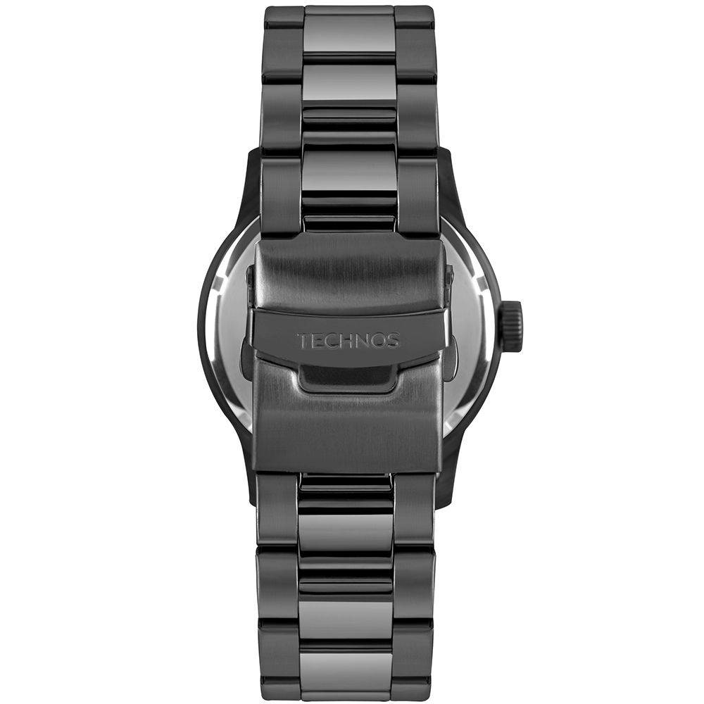 Relógio Technos Masculino Golf 2315LAH/5P Aço Preto