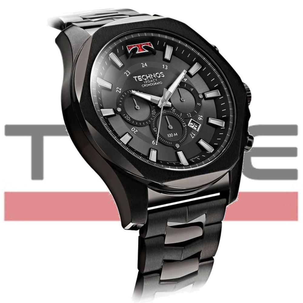 Relógio Technos Masculino Legacy JS26AL/4P Cronógrafo