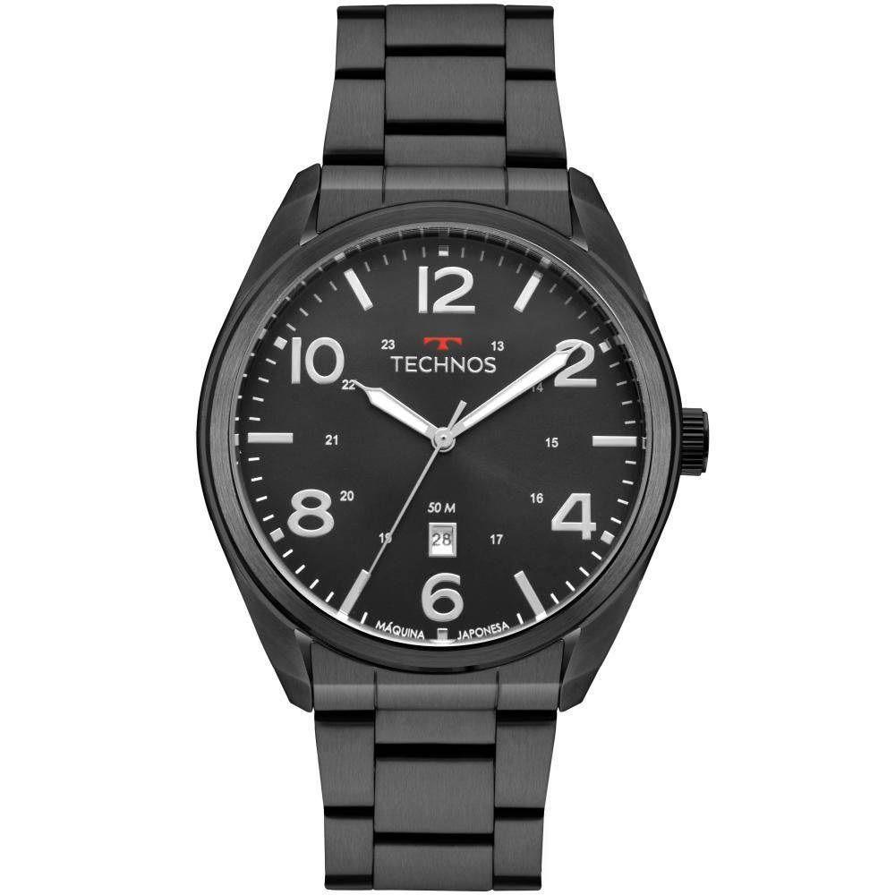Relógio Technos Masculino Military 2115MSX/4P Preto