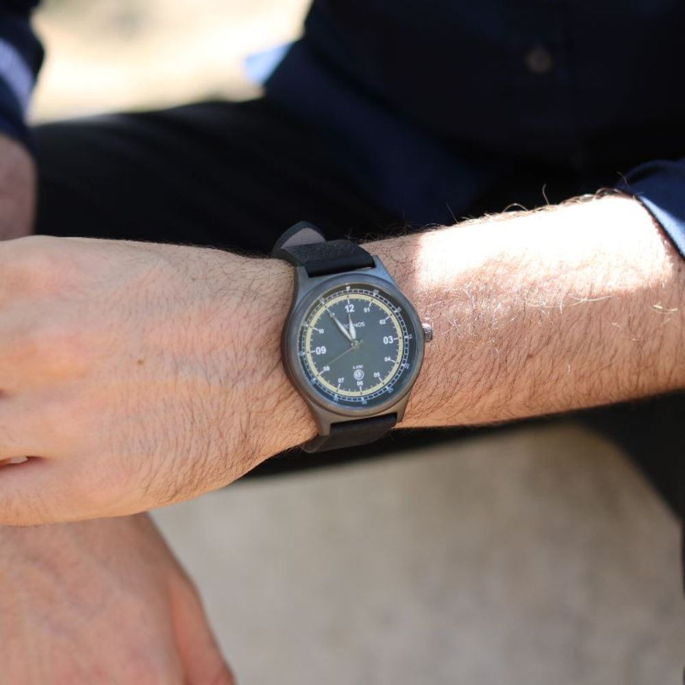 Relógio Technos Masculino Performance Military 2115MQZ/2A - Aço Grafite