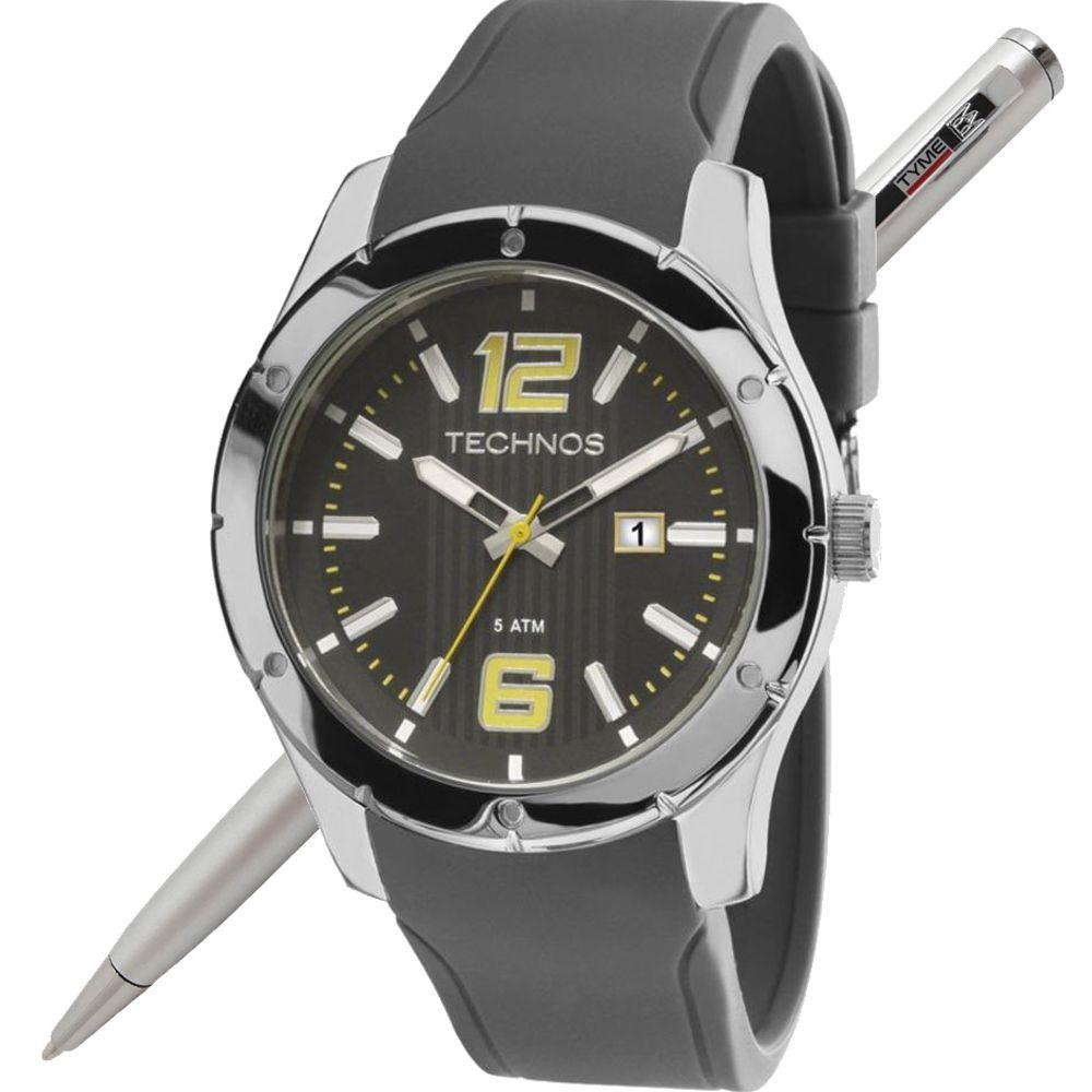 Relógio Technos Masculino Performance Racer 2115MLN/8P