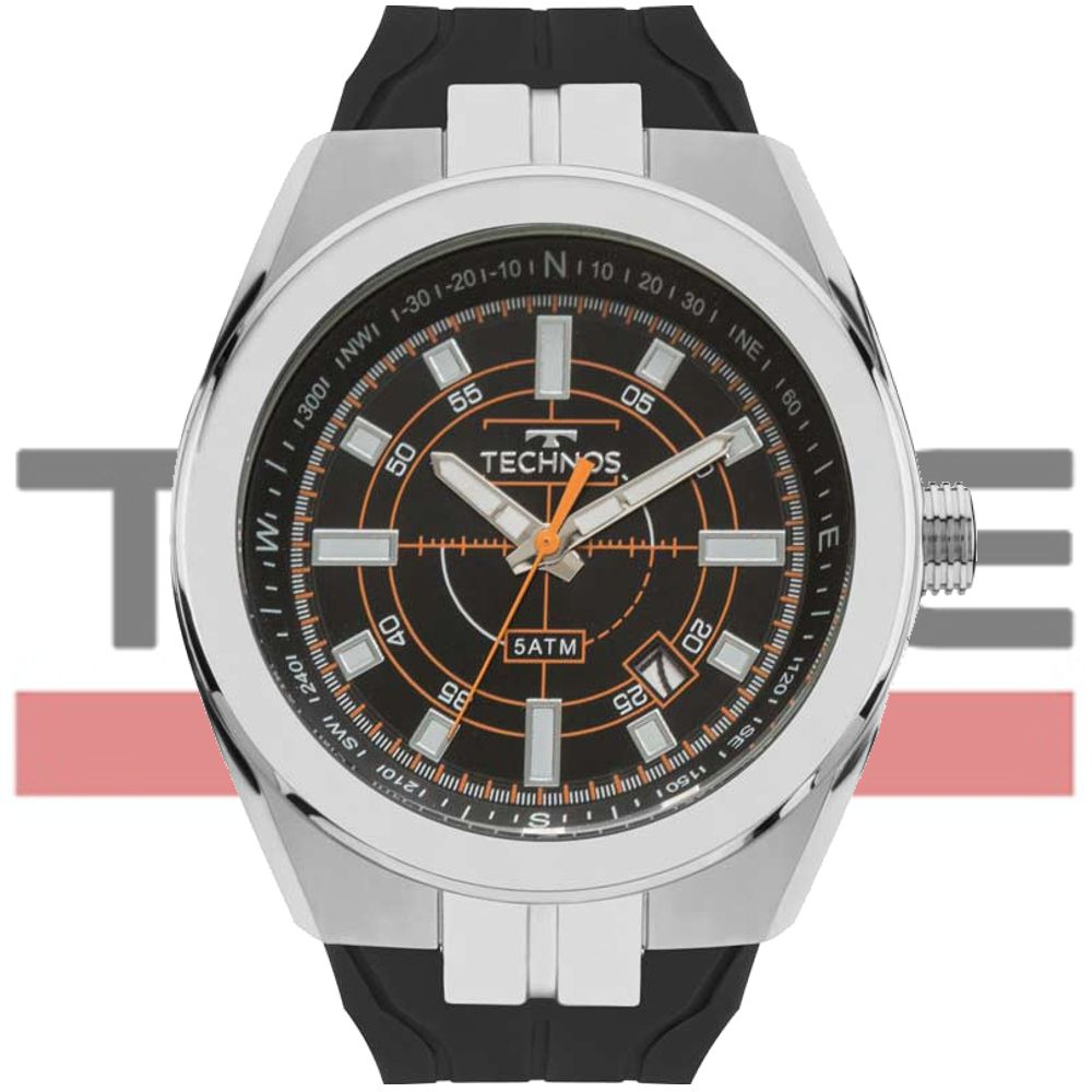Relógio Technos Masculino Performance Racer 2315ACO/8P
