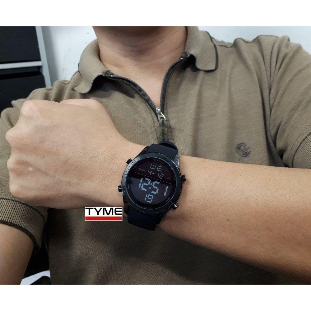 Relógio Technos Masculino Performance Racer Digital T02139AE/4F Preto