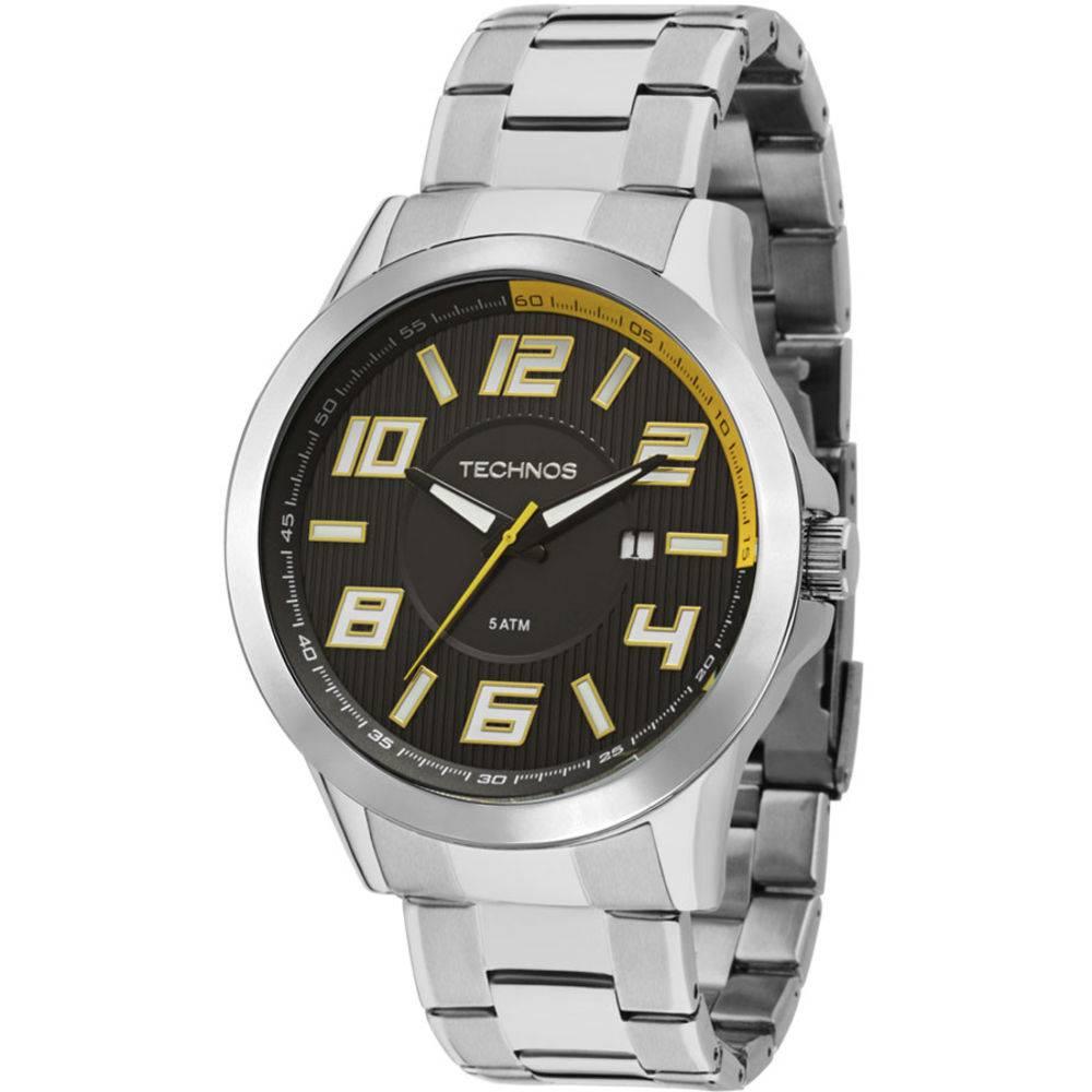 Relógio Technos Masculino Racer 2115KNE/1Y Prateado