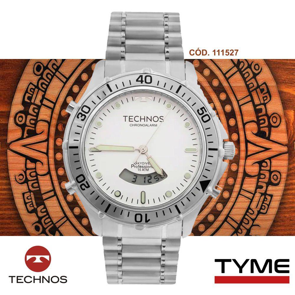 Relógio Technos Masculino Skydiver T205IW/1P Anadigi