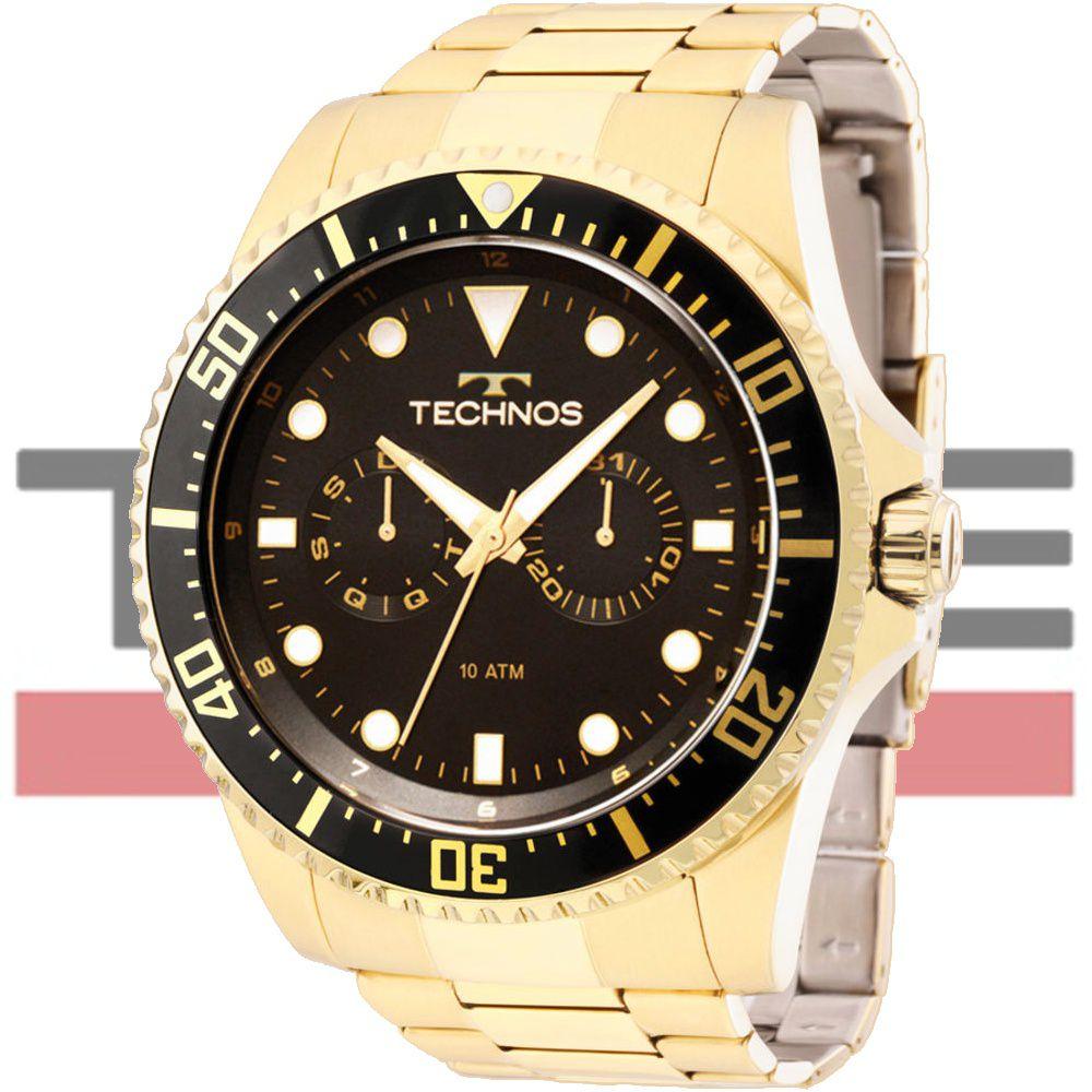 Relógio Technos Masculino Skymaster 6P25BF/4P