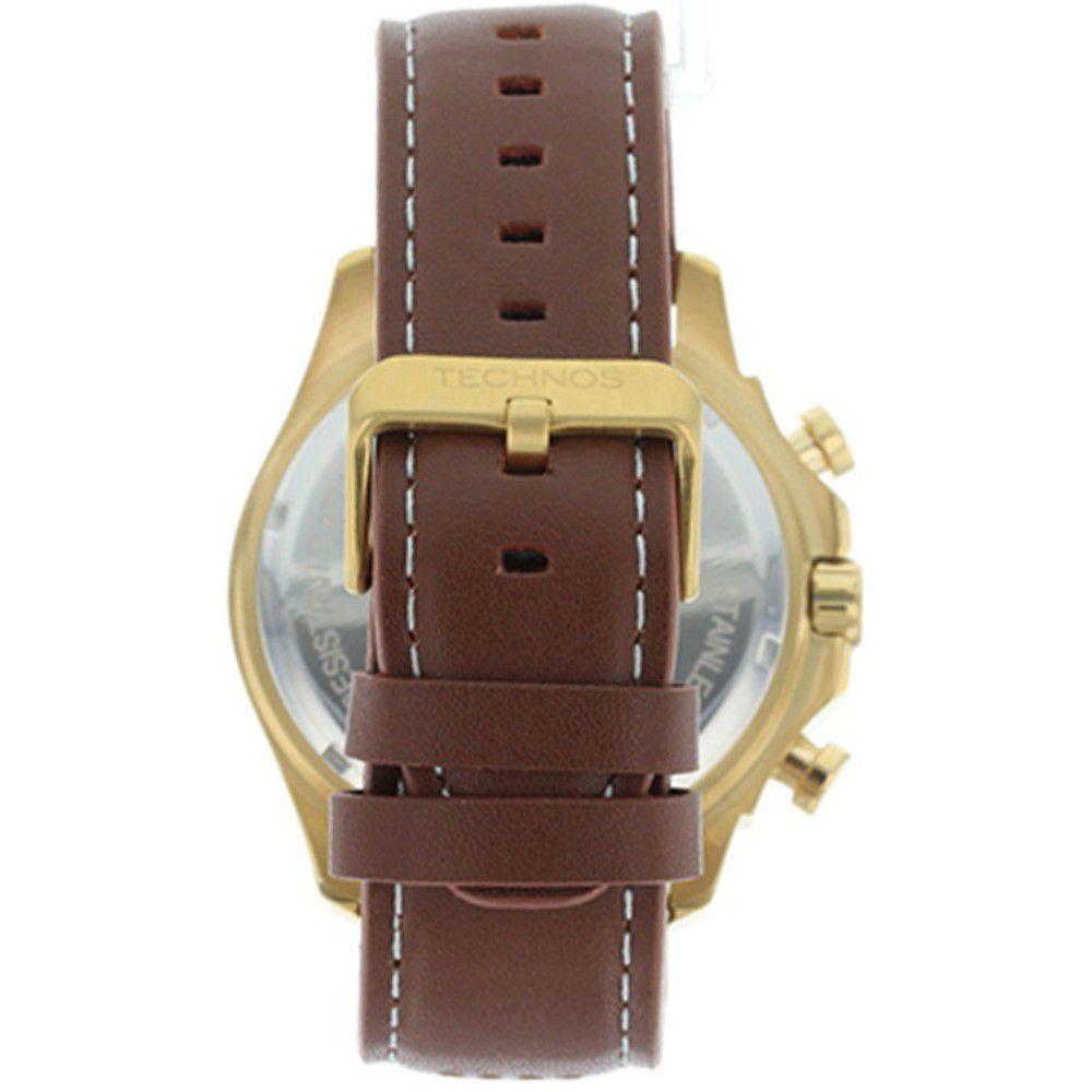 Relógio Technos Masculino Skymaster JS25BG/0M Cronógrafo Dourado