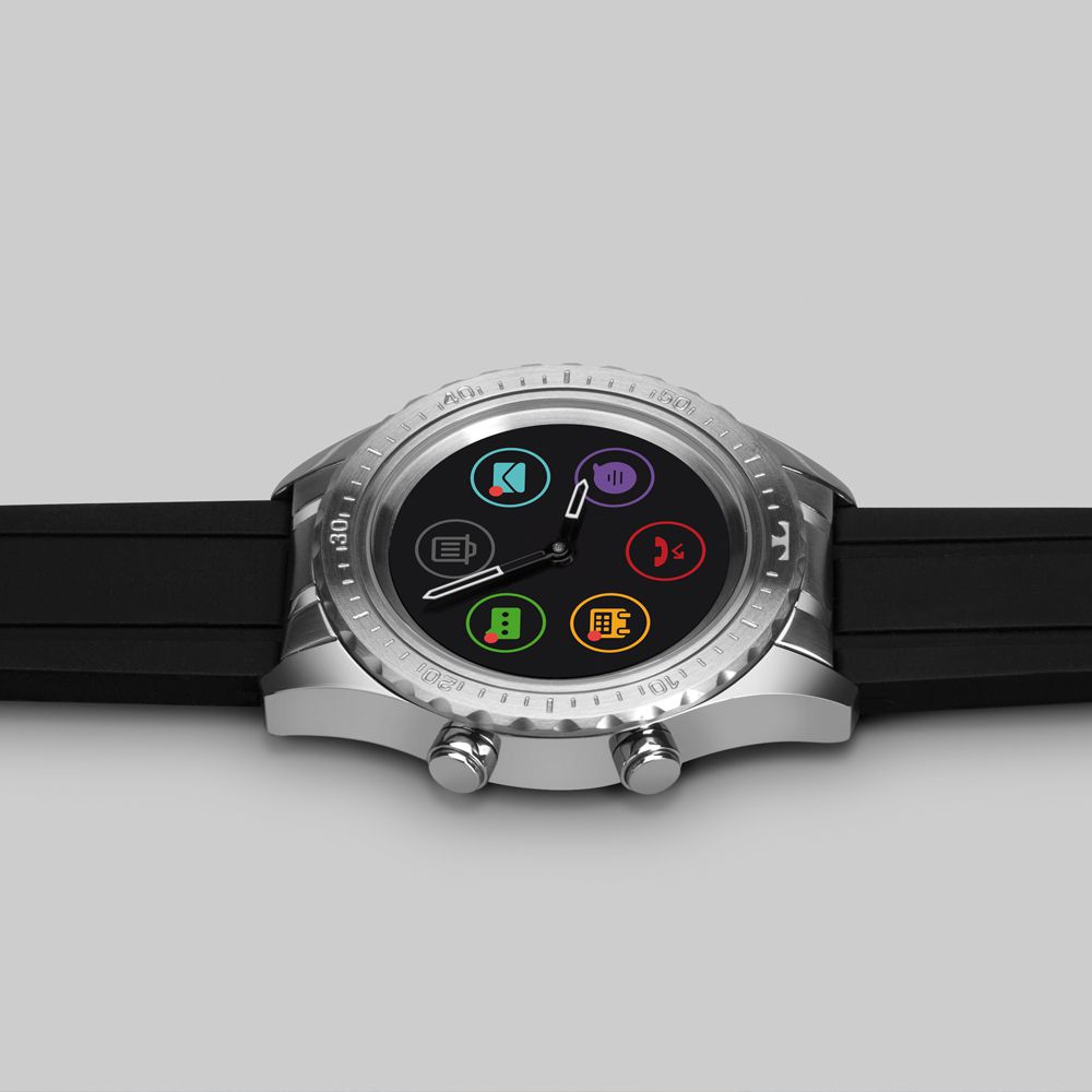 Relógio Technos Smartwatch Masculino Connect Duo P01AA/1P