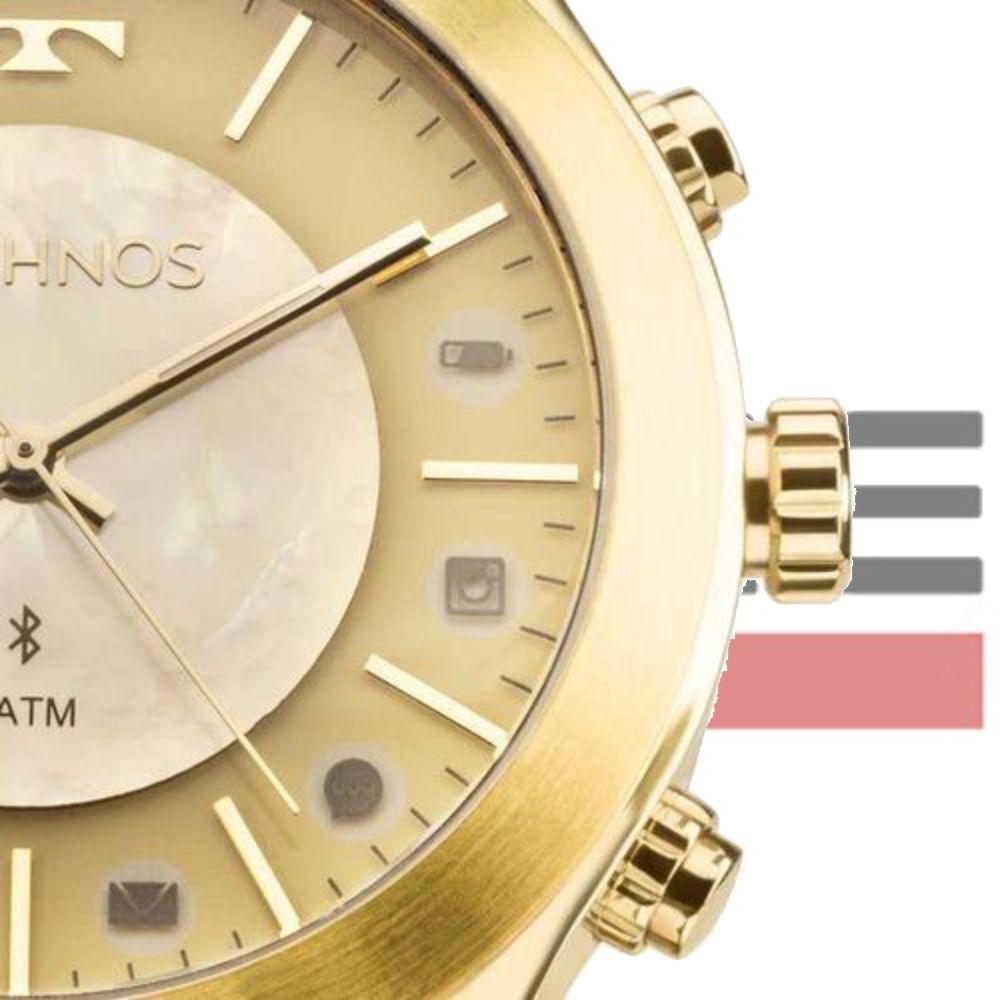 Relógio Technos Smartwatch Feminino Elegance Connect 753AE/4X