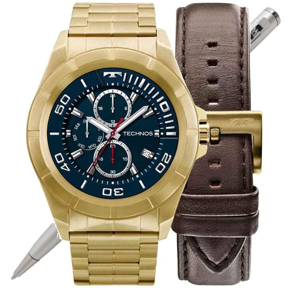 Relógio Technos Smartwatch Masculino Connect SRAB/4P