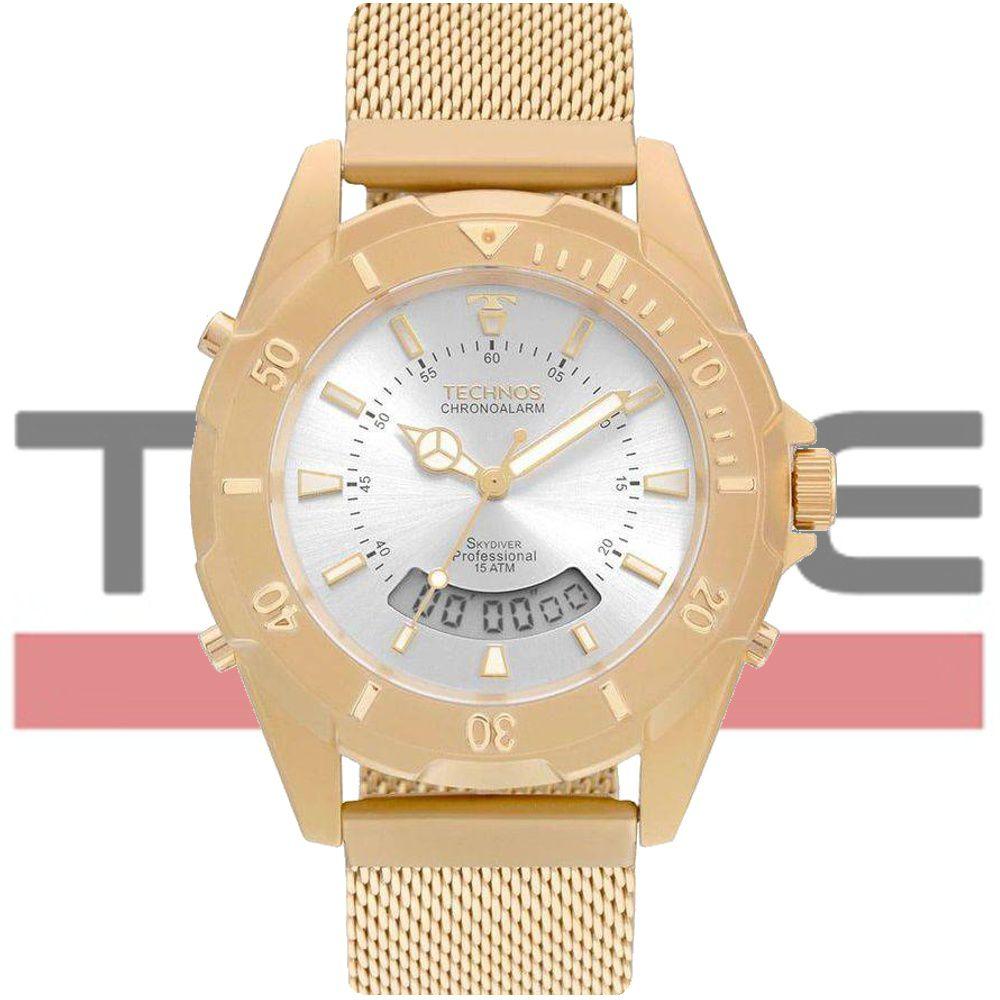 Relógio Technos Unissex Elegance Skydiver T205JF/4K