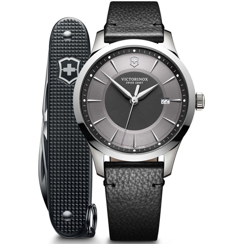 Relógio Victorinox Masculino Alliance c/ Canivete Pioneer 241804.1