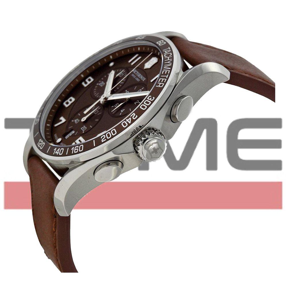 Relógio VIctorinox Masculino Chrono Classic XLS Marrom 241653