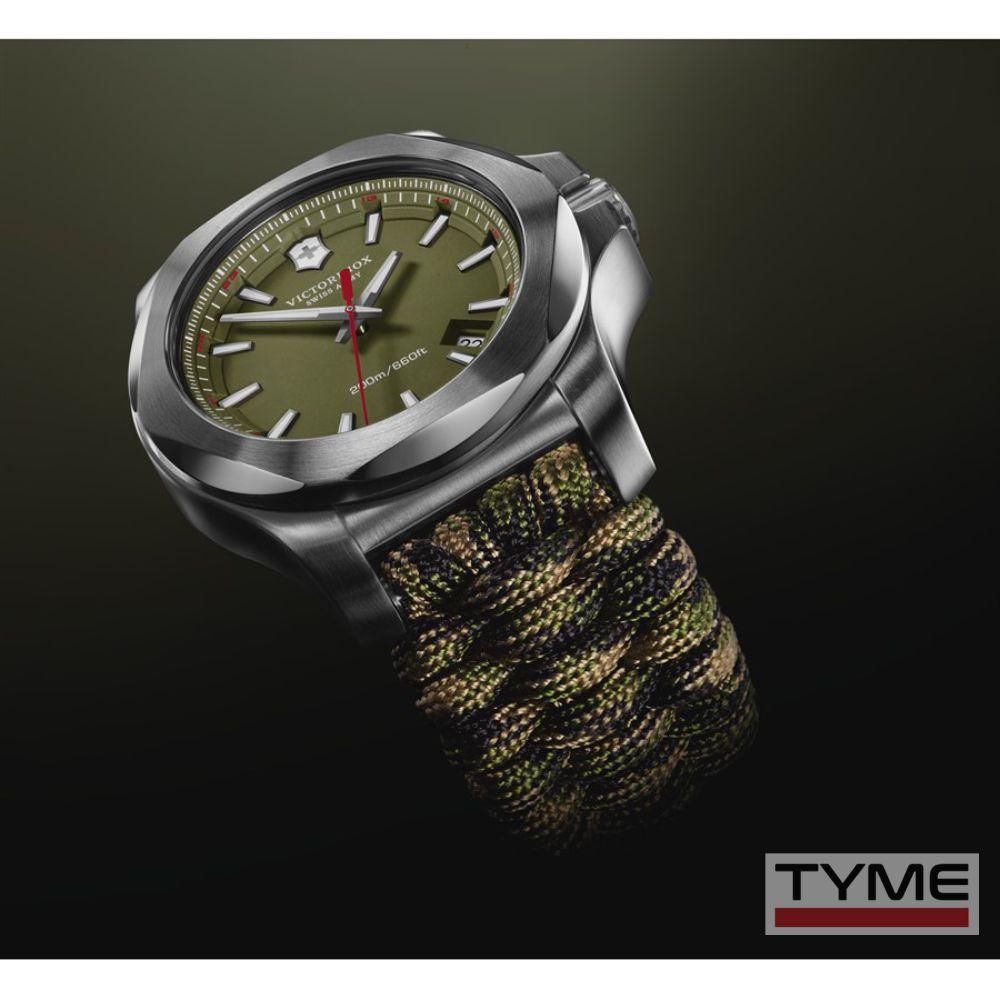 Relógio VIctorinox Masculino Swiss Army  I.N.O.X. Paracord 241727.1