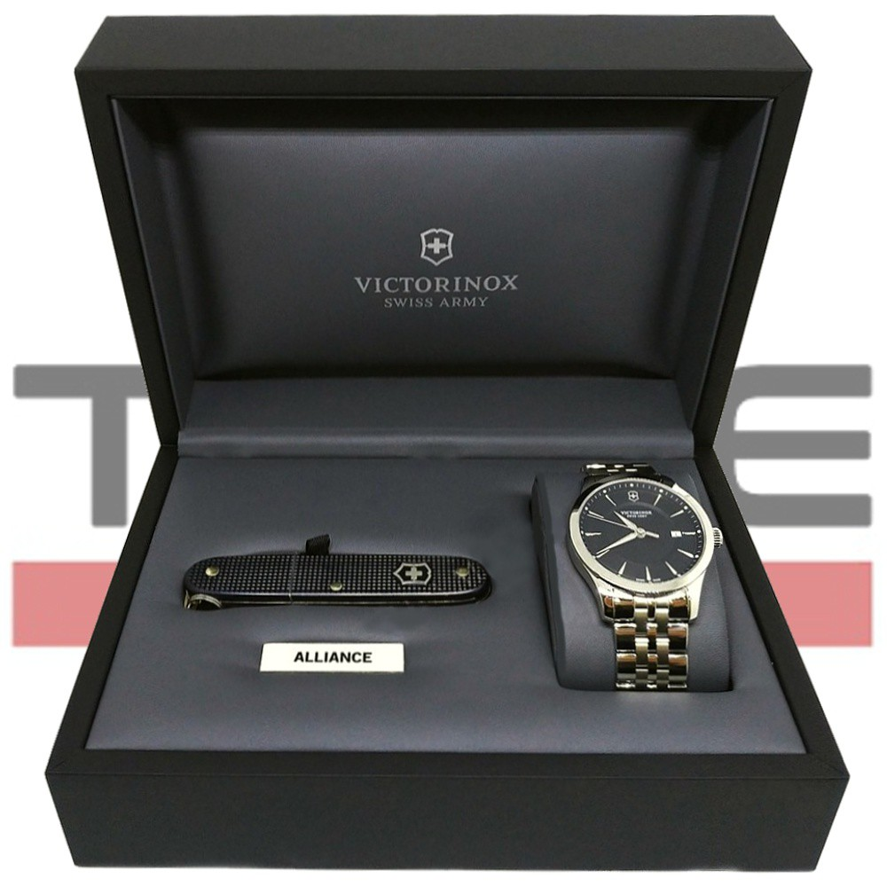 Relógio Victorinox Swiss Army Masculino Alliance com Canivete Pioneer 241801.1