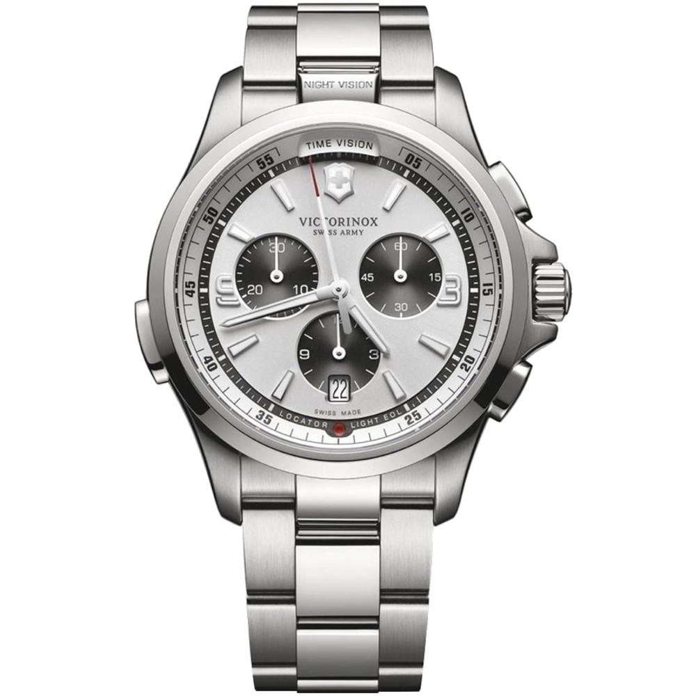 Relógio Victorinox Swiss Army Masculino Night Vision 241728 Cronógrafo