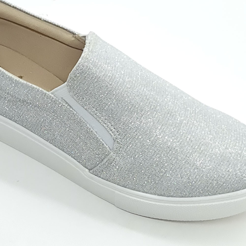 TENIS SLIP ON BRILHO