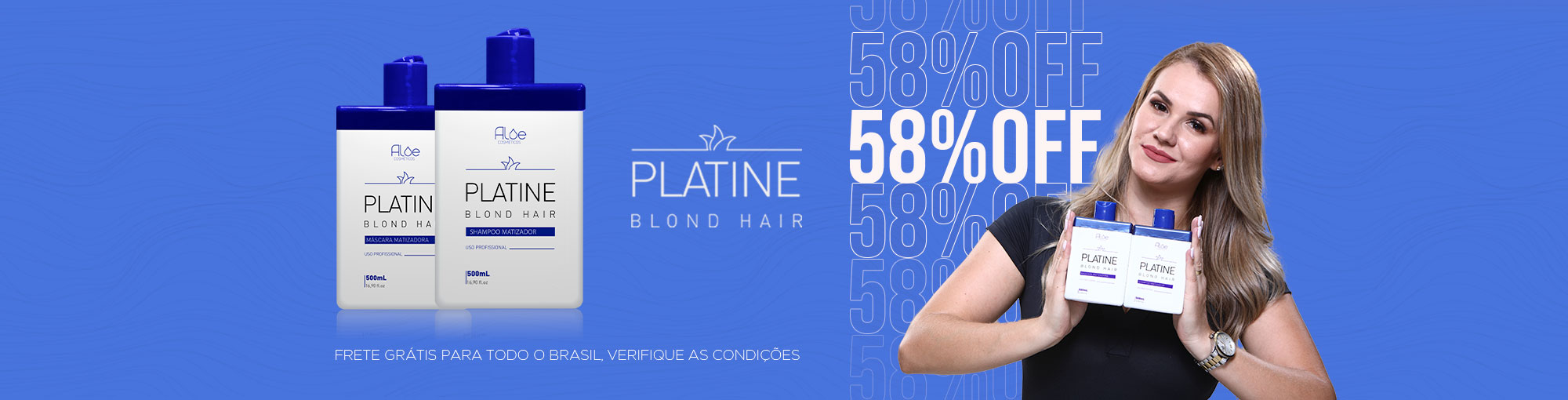 Kit Matizador Platine Blond 58% OFF
