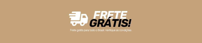 Frete grátis para todo o Brasil