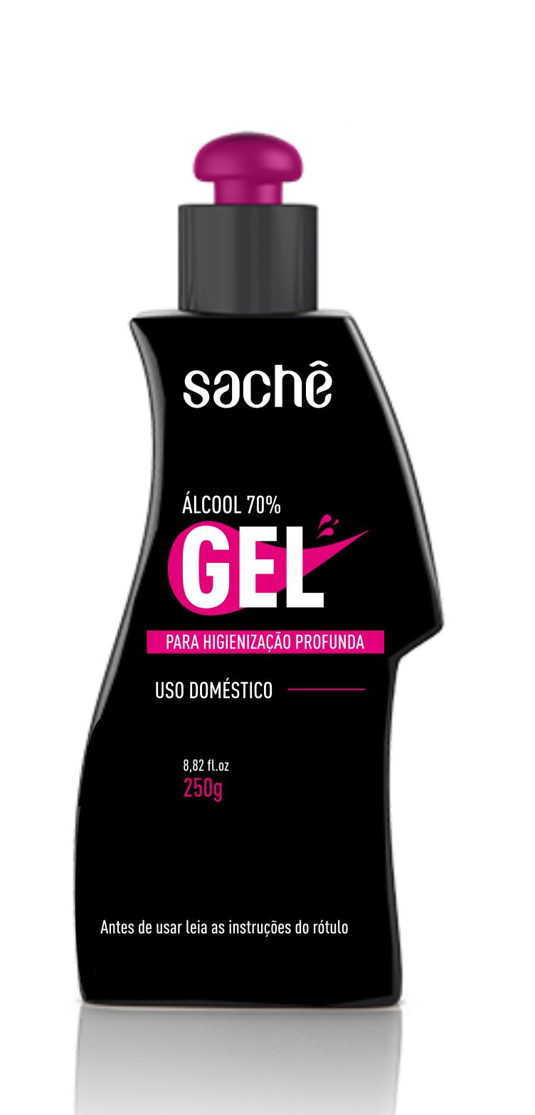 Álcool em Gel 70% 250g