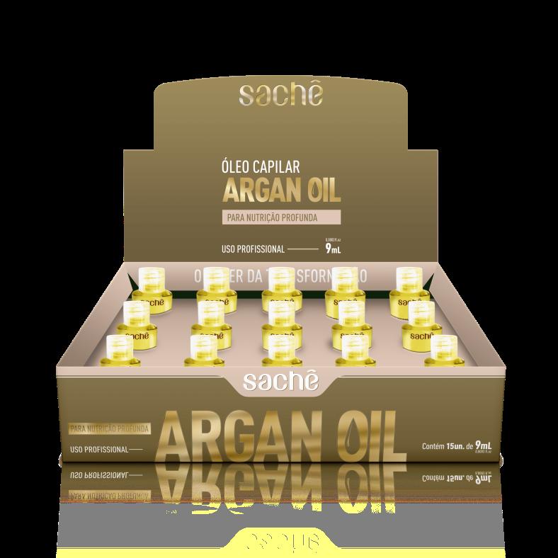 Argan Oil & Macadâmia 9ml caixa com 15 unidades