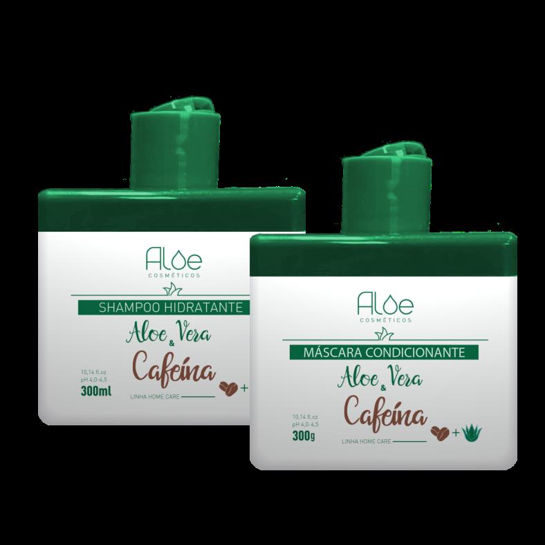 Kit Aloe Vera & Cafeína