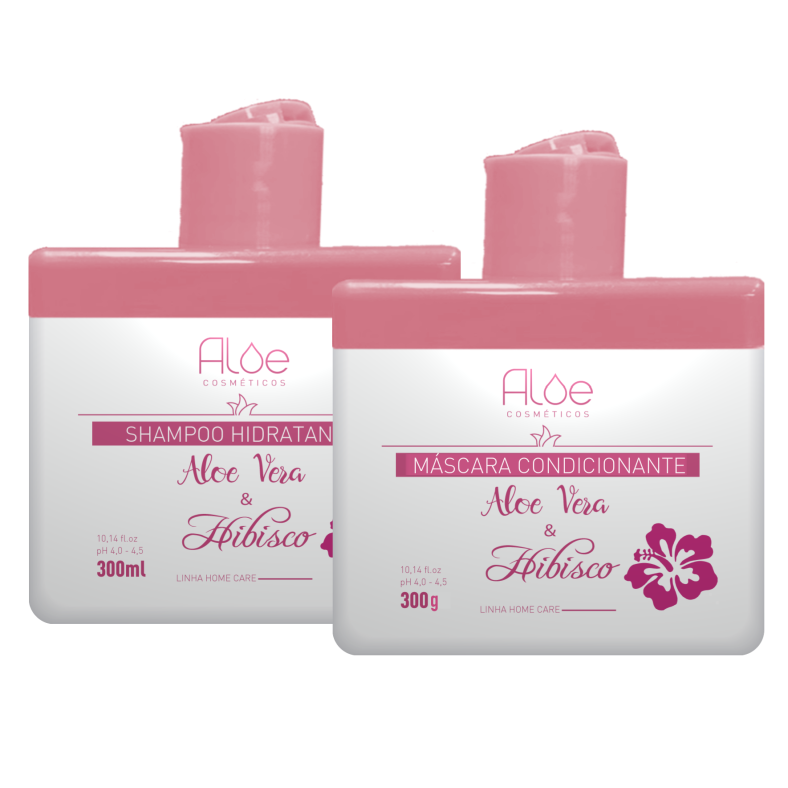 Kit Aloe Vera & Hibisco