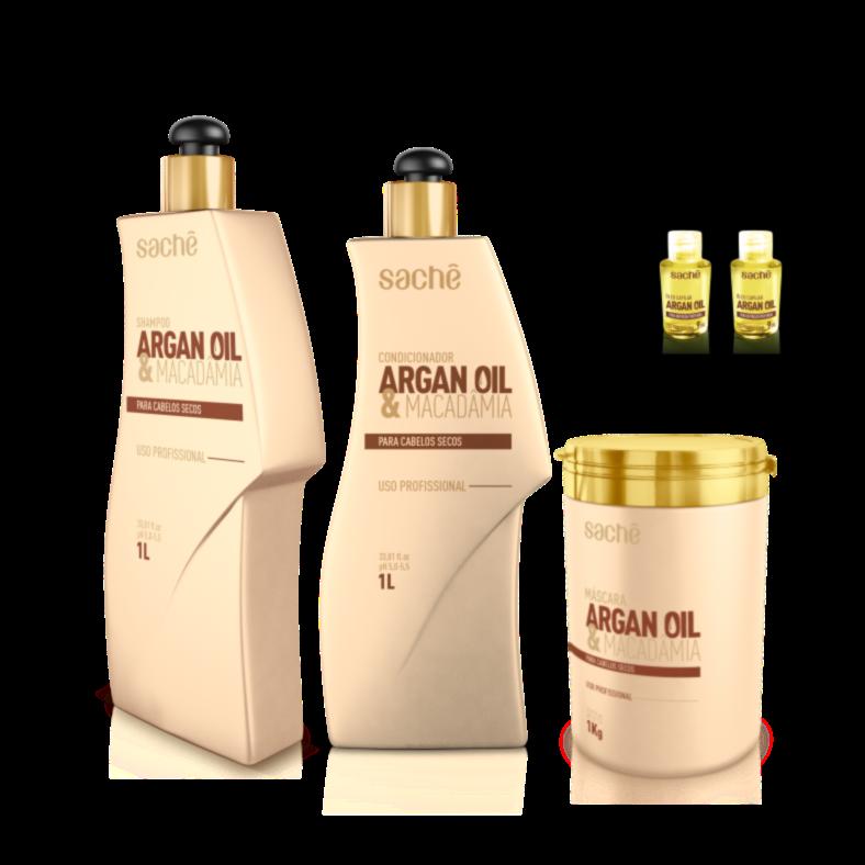 Kit Argan & Macadâmia 1Kg