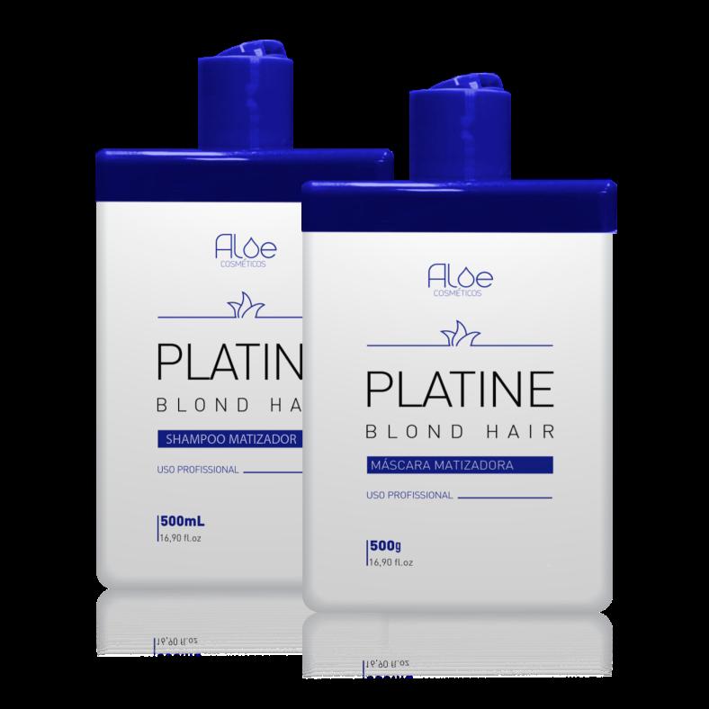 Kit Matizador Platine Blond Aloe Cosméticos