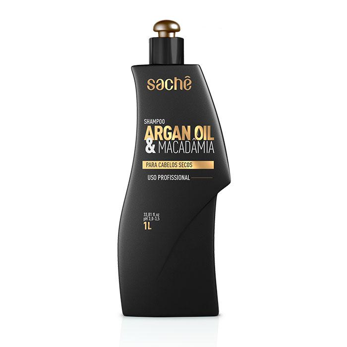 Kit Shampoo 1L e Máscara  Argan & Macadâmia 1Kg