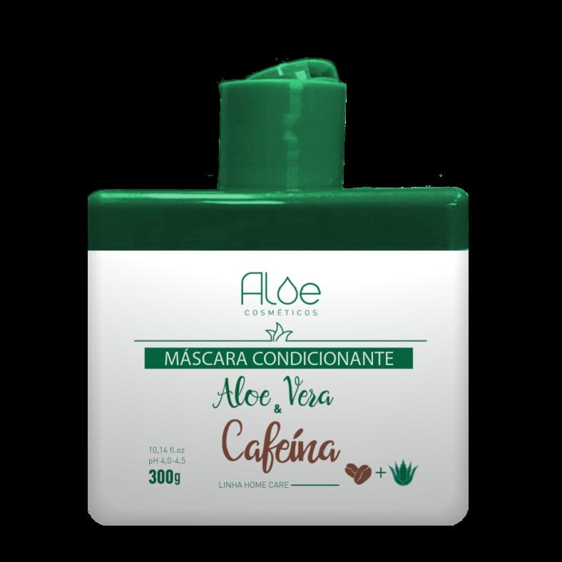 Máscara Desmaia Cabelo Aloe Vera & Cafeína 300g